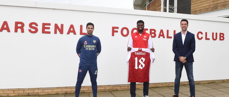 Hivatalos: Thomas Partey az Arsenal játékosa